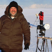 Rob Hawley in Svalbard