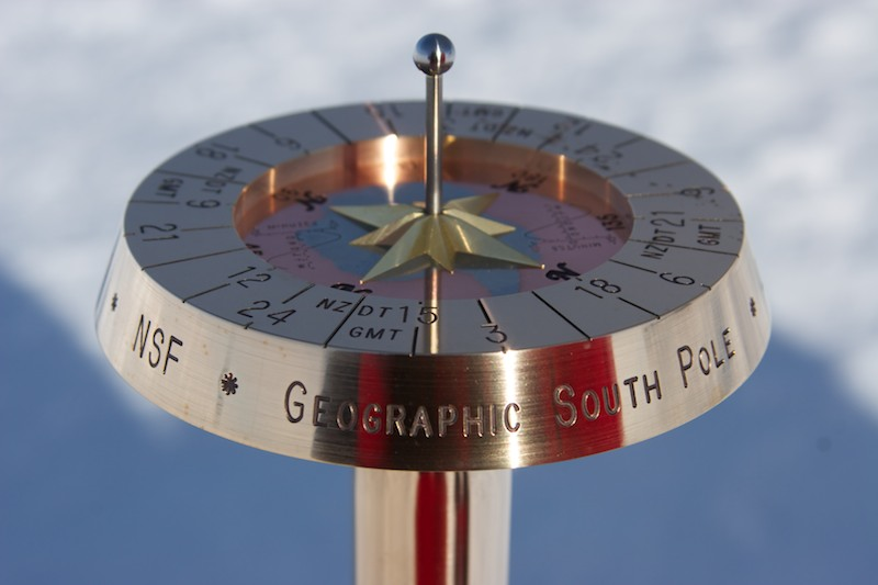 2014 Geographic South Pole Marker